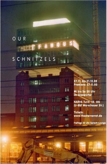 Our famous Schnitzels - Einladung  -  © Christian Klandt 2002
